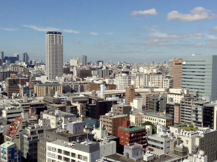Tokyo in a sunny day