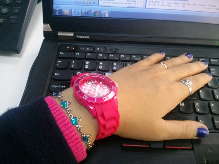 Lovely Pink watch