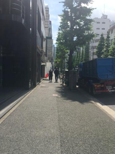 Walking street near the office